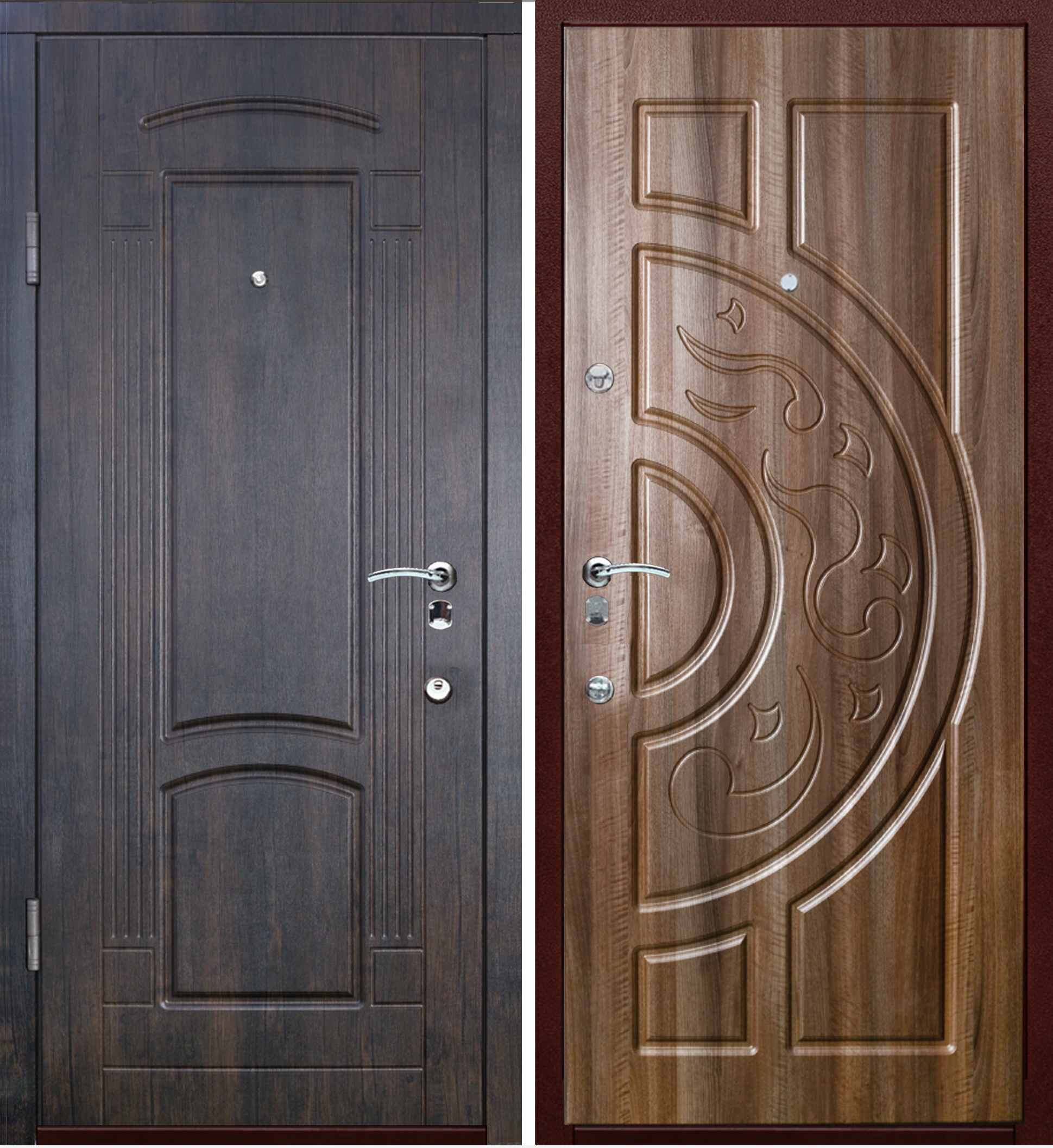 входные двери с рисунком фото