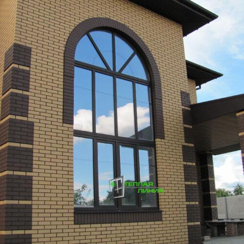 Ламинированные окна, двери