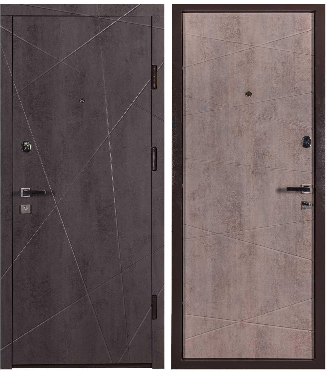 Дверь входная. Cерия URBAN Модель: МЕГАПОЛИС